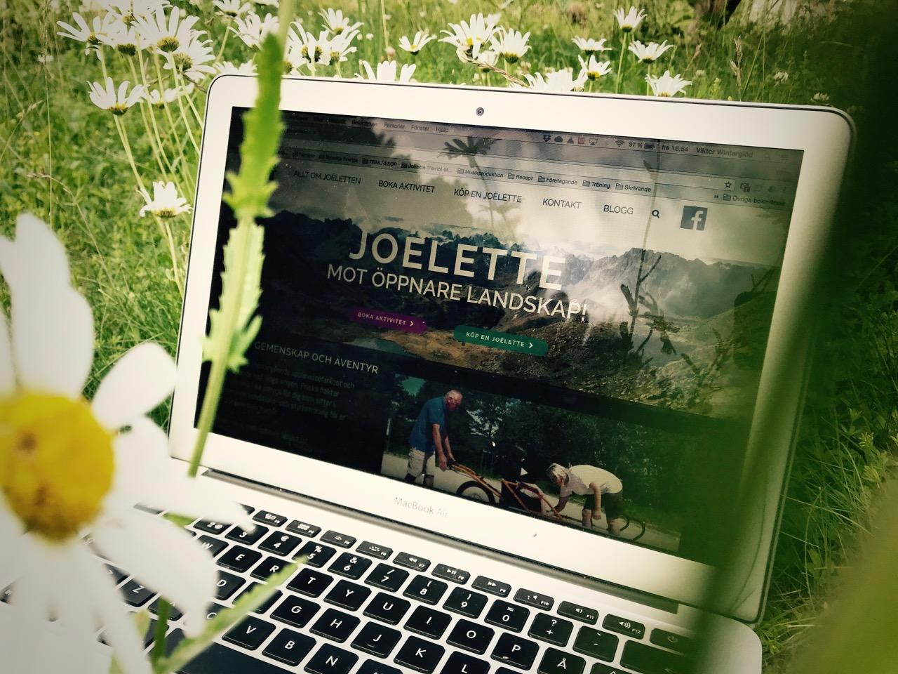 Nyinvigning av joelette.se!